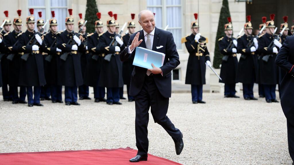 Laurent Fabius a affirmé, vendredi 29 janvier 2016, que la France prendrait ses responsabilités en reconnaissant l'État palestinien en cas d'échec de son initiative pour relancer le processus de paix israélo-palestinien.
