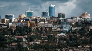 Le centre de Kigali, au Rwanda, le 29 avril 2019.