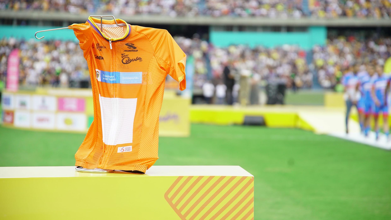 El líder de la clasificación general del Tour Colombia 2.1 portará la camiseta naranja.