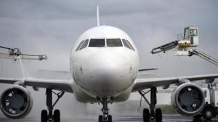 Le drone a frôlé l'Airbus, le 19 février, en passant à cinq mètres de l'appareil.