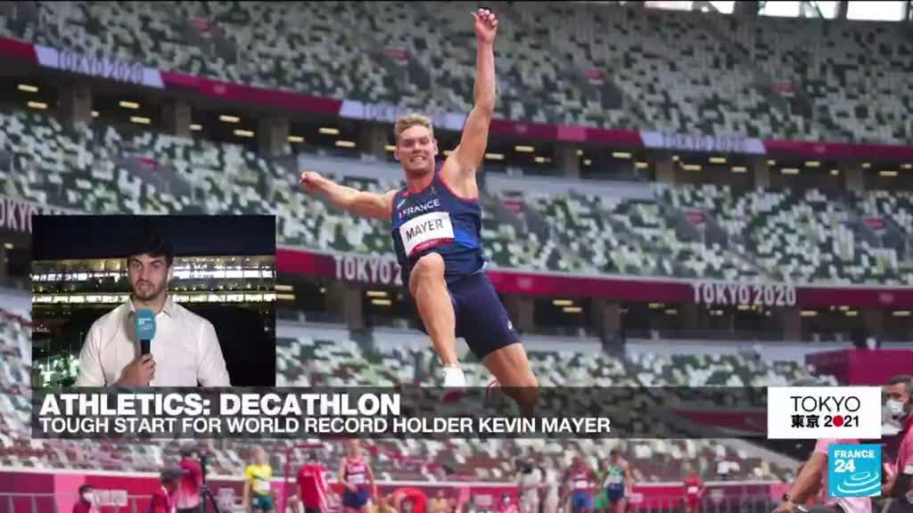 2021-08-04 16:23 Olympic Games: Tough start for world record holder Kevin Mayer