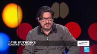 Le journaliste et réalisateur David Dufresne