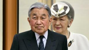 L'empereur du Japon Akihito, en avril 2015.