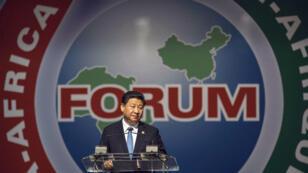 Le président chinois Xi Jinping lors de son discours à Johannesburg, le 4 décembre 2015.