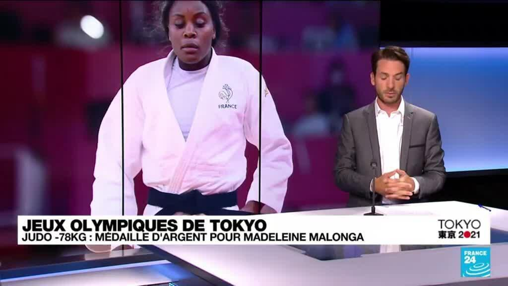 2021-07-29 12:11 JO de Tokyo : une médaille d'argent pour la judokate Madeleine Malonga