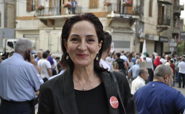Carole Babikian, 55, says she will be the voice of Lebanon's women and youth.