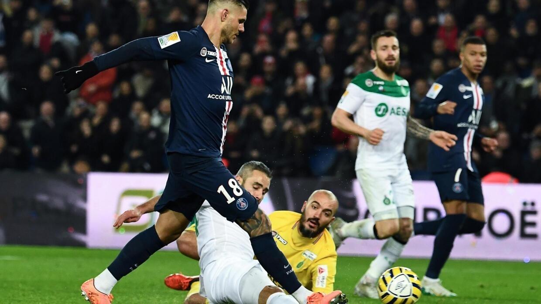 League Cup Psg Ruthless Against Saint Etienne Finds The Half