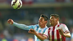 En phase de poules, le 13 juin dernier, l'Argentine et le Paraguay n'avaient pu se départager (2-2).