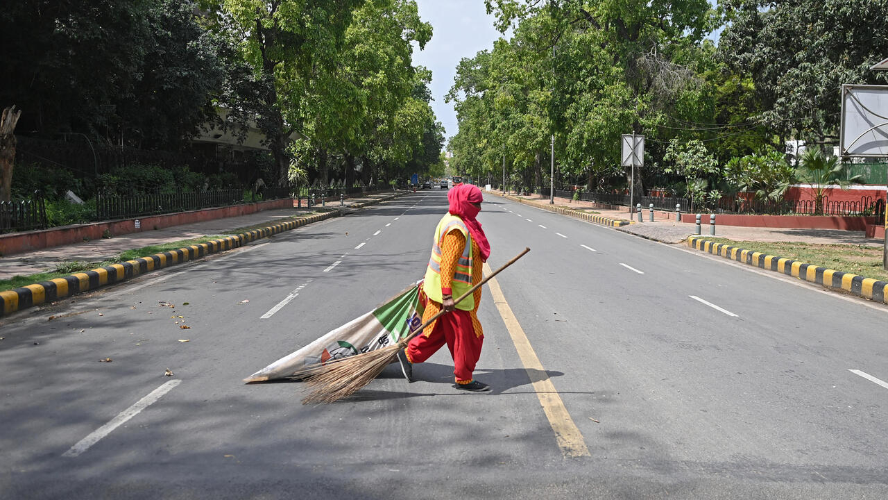 New Delhi enters weekend lockdown as India's Covid-19 cases surge