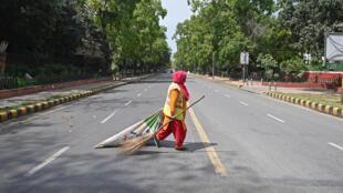 New Delhi lockdown