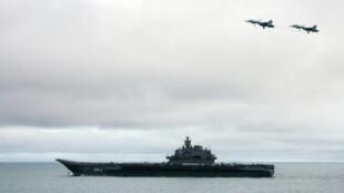 حاملة الطائرات الروسية أميرال كوزنتسوف