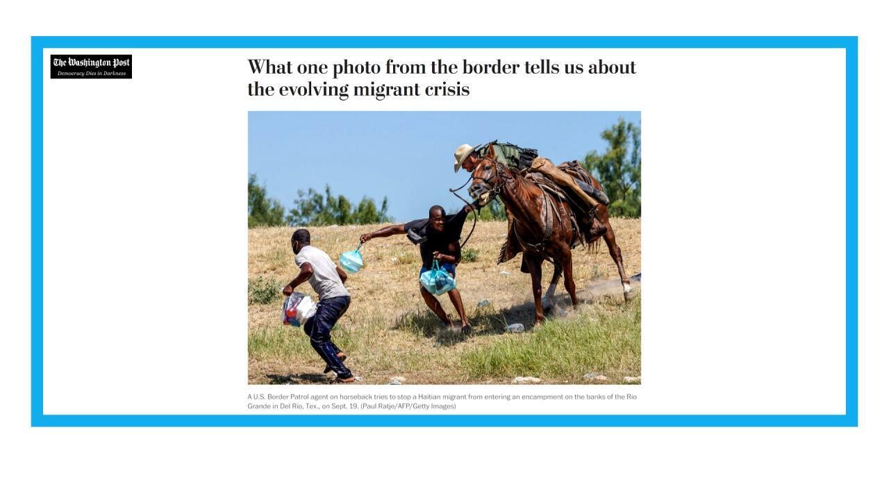 Aux Etats-Unis, la photo de l'arrestation d'un migrant haïtien suscite l'indignation