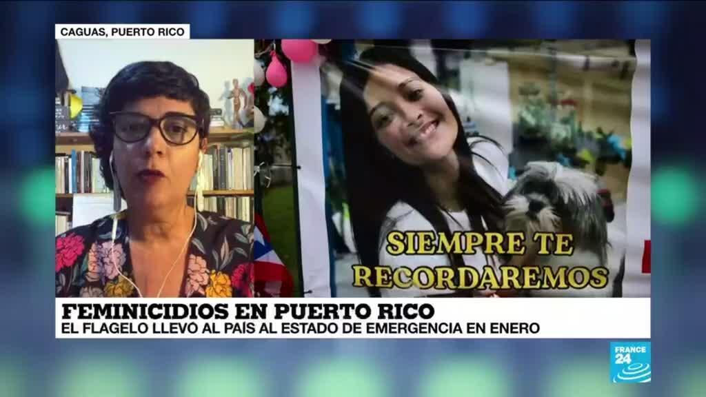 """2021-05-19 02:09 Amárilis Pagan Jiménez: """"Puerto Rico tiene una de las tasas más altas de feminicidios"""""""