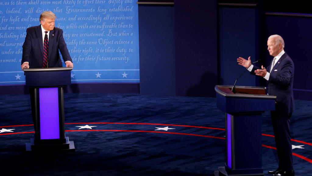 Trump and Biden face off in bitter, chaotic first US presidential debate