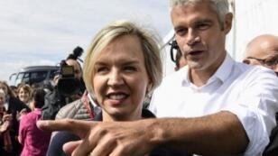 "زعيم حزب ""الجمهوريون"" لوران فوكييه ينهي مهام نائبته فيرجيني كالميل"