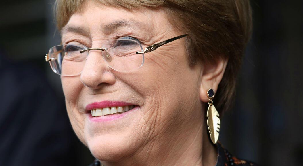 Imagen de archivo de la alta comisionada de Derechos Humanos de la ONU, Michelle Bachelet, en Kajang, Malasia, el 4 de octubre de 2019.