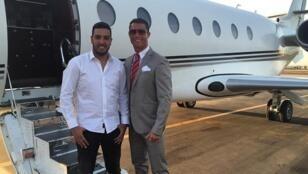 كريستيانو رونالدو رفقة صديقه بمراكش