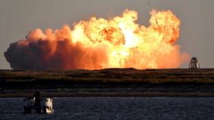 SpaceX starship crash