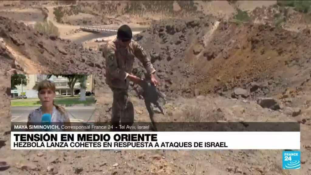 2021-08-06 14:02 Informe desde Tel Aviv: Hezbolá reivindica el ataque aéreo contra Israel