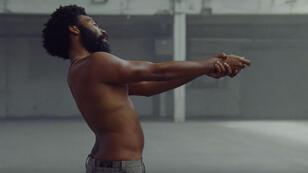 "Childish Gambino, dans la vidéo ""This is America""."