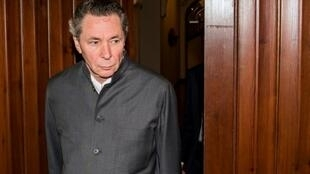 El francés Jean-Claude Arnault llega a un tribunal de Estocolmo el 24 de septiembre de 2018