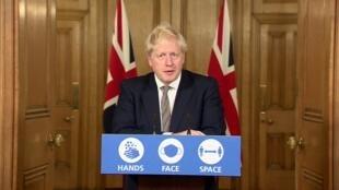Le Premier ministre britannique, Boris Johnson, a annoncé samedi 31 octobre le retour à un confinement dans toute l'Angleterre.