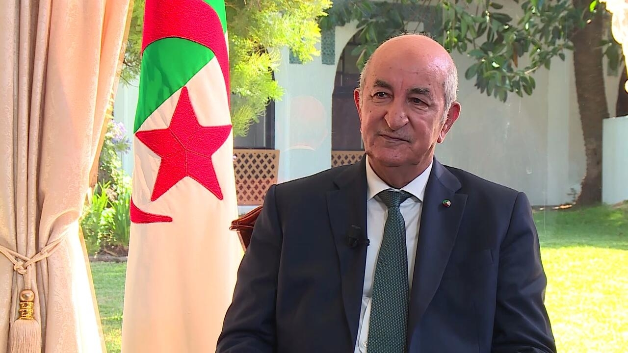 """The Interview - EXCLUSIVE: Algerian President Tebboune says opportunity exists for """"calmer"""" relations with France"""