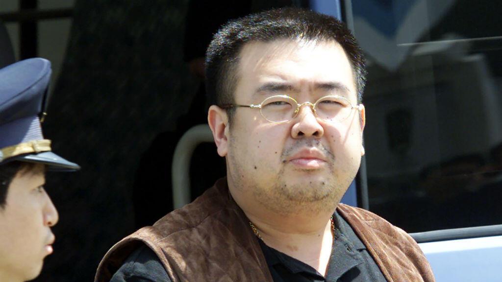 Kim Jong-nam, le 4 mai 2001 au Japon.
