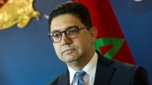 وزير الخارجية المغربي ناصر بوريطة في الرباط في 8 كانون1/ديسمبر 2018