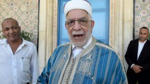 عبد الفتاح مورو في مقر البرلمان التونسي، 2018/07/25