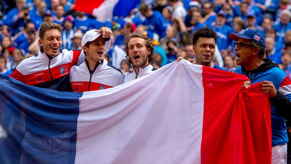 L'équipe de France, en quête d'un dixième succès en Coupe Davis.
