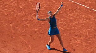 Caroline Garcia s'est montrée expéditive face à la Roumaine Irina Begu.