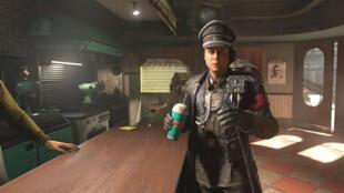 Nazi et milkshake, le nouveau Wolfenstein en une image.