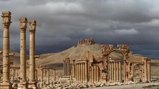 Une vue du site antique de Palmyre, en 2014.