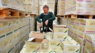 For French winemakers like Gavin Quinney, seen here at Chateau Bauduc, transportation could be a worry after a no-deal Brexit