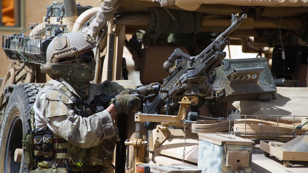 Un membre de forces spéciales françaises au Mali, le 6 avril 2015.