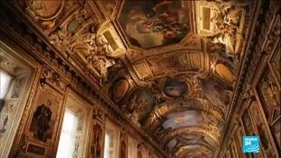2020-01-16 14:45 The Louvre Museum finishes its restoration of the Apollo Gallery