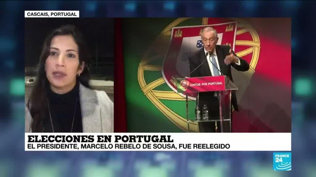 2021-01-25 00:08 Informe desde Cascais: Rebelo de Sousa sería reelegido como presidente de Portugal