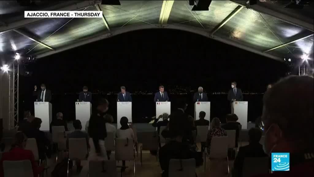 2020-09-11 10:06 Mediterranean leaders threaten sanctions over Turkey resources row