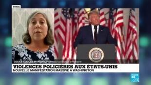 """2020-08-28 23:01 Violences policières aux États-Unis : """"On assiste à la montée en puissance du mouvement Black Lives Matter"""""""