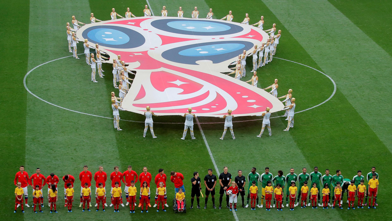 Las selecciones de Rusia y Arabia Saudita disputaron el primer partido del Mundial.