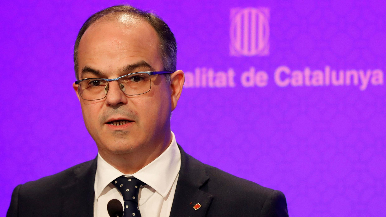 Portavoz del Gobierno de Cataluña, Jordi Turull.