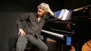 Jacques Higelin à Paris le 30 août 2007.