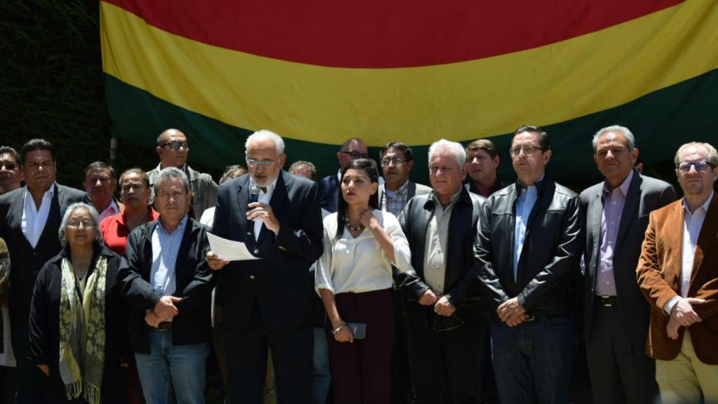 """los principales líderes opositores están agrupados en lo que ellos llaman la """"Coordinadora de Defensa de la Democracia"""""""
