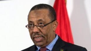 عبد الله الثني رئيس الوزراء الليبي