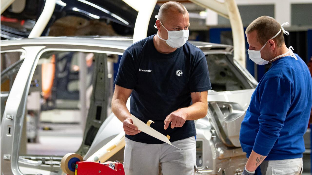 Volkswagen cars coronavirus