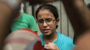 Mariam Malak, le 8 septembre 2015, au Caire.