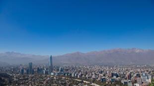 Santiago sin contaminación AFP