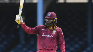 Back in business: Chris Gayle