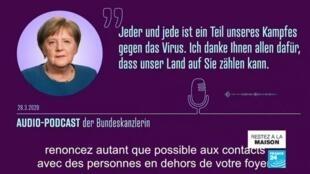 2020-04-02 13:09 Coronavirus : L'Allemagne, modèle européen dans la gestion de la crise ?